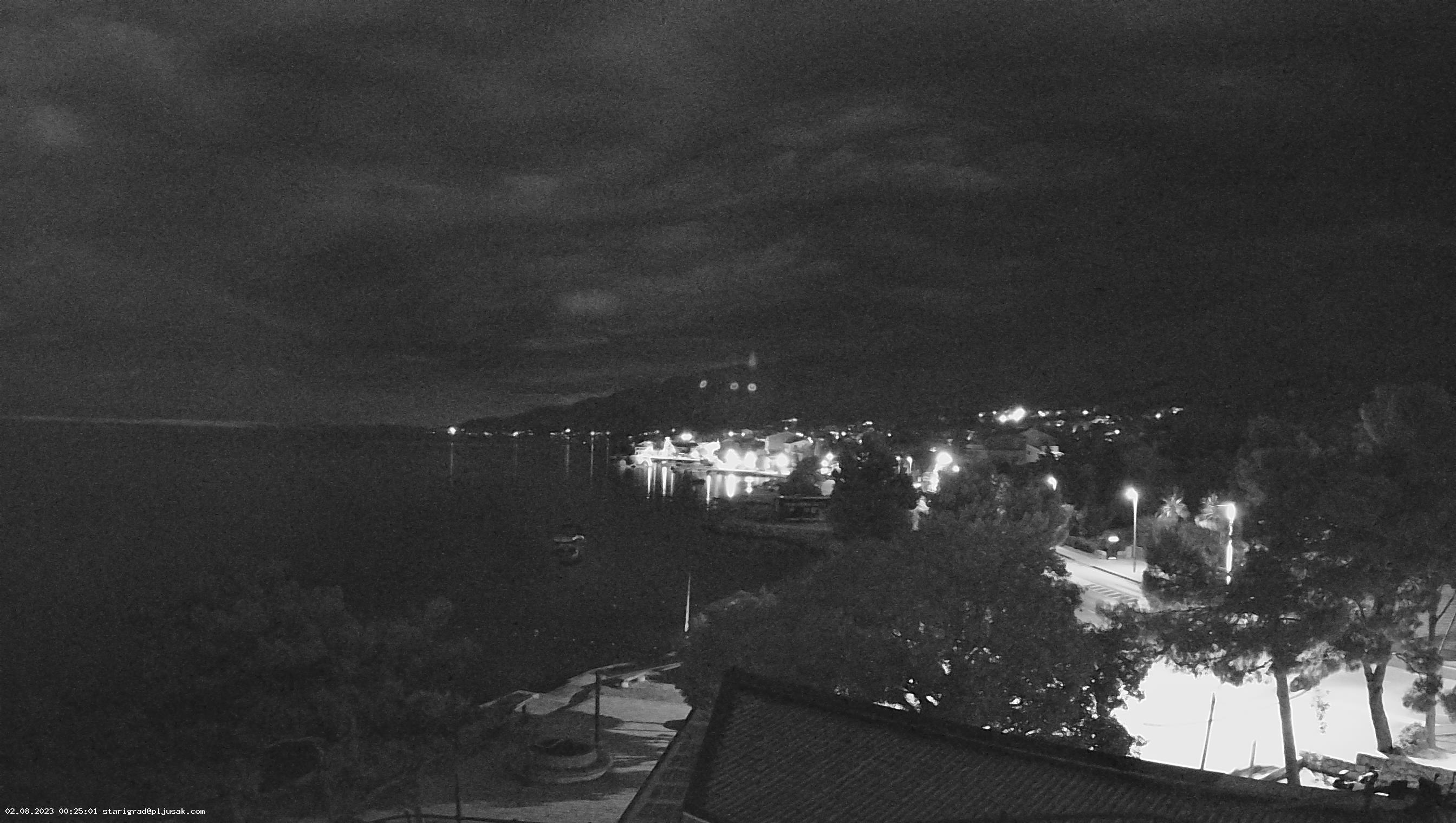 Spletna kamera Starigrad - Paklenica