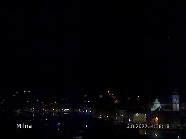Webcam Milna - Croatia