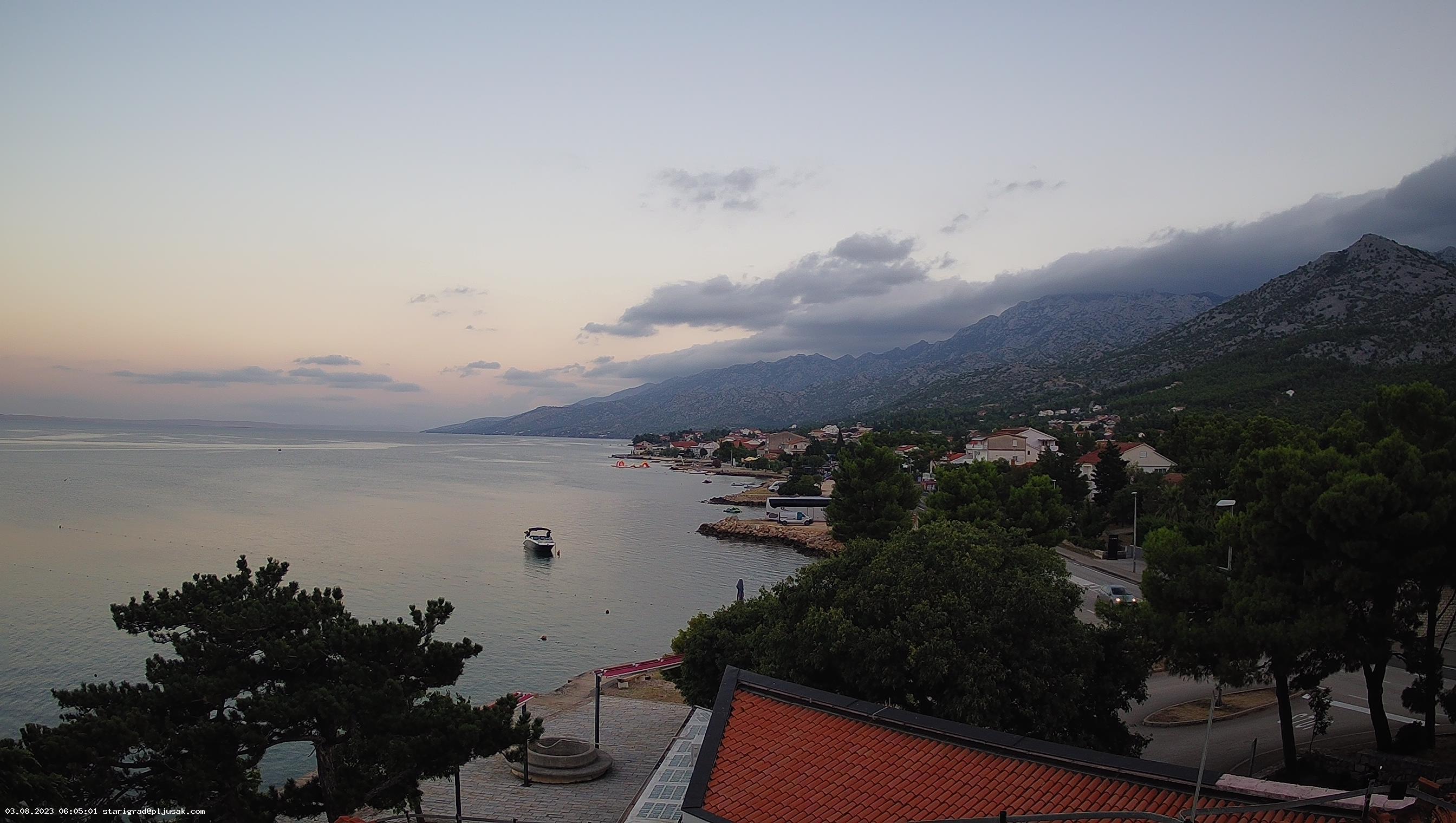 Webcam - Starigrad Paklenica