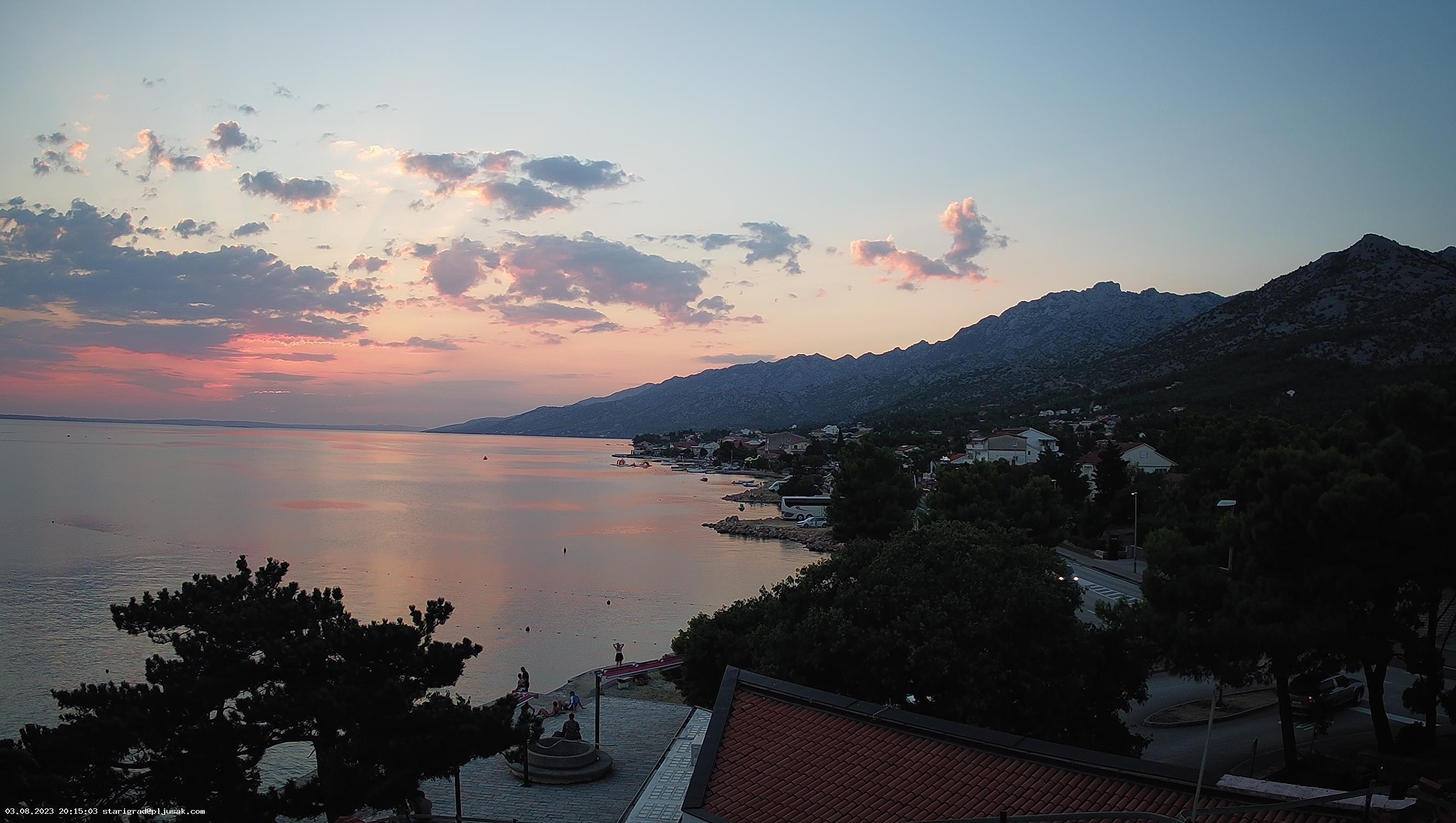 Web kamera - Starigrad Paklenica